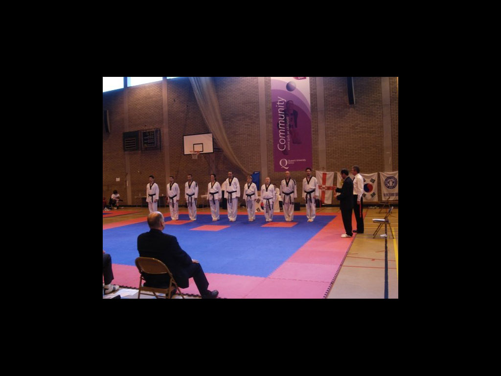 Dan grade Poomsae Teams Groups