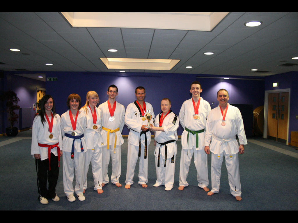 Competitors and Winners at UTA Poomsae Championships
