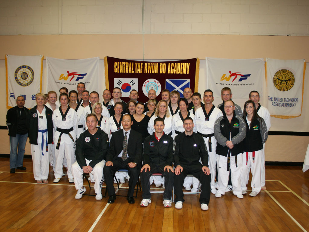 Group Photo from the Referee Course at the Scottish Open