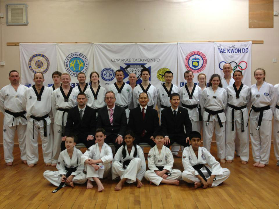 Group Photo from the 50th Dan Grading weekend in Scotland
