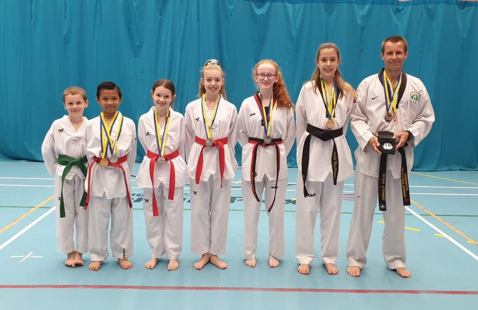 Lisburn Taekwondo Club wins 9 medals at Bluewave Championships