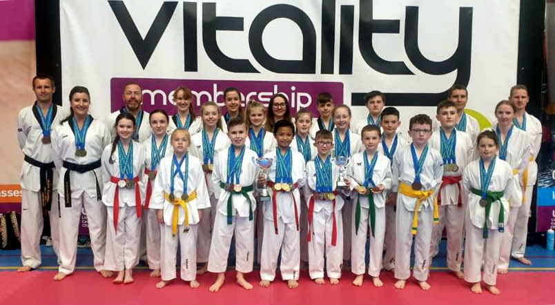 Lisburn Taekwondo Club wins 1st place at NI Club Championships