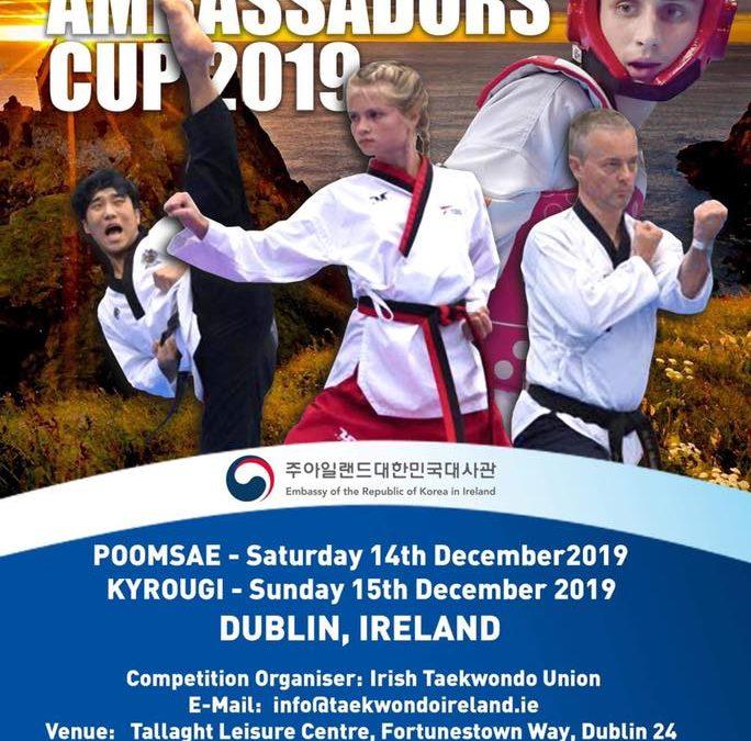 Competition: Korean Ambassadors Cup – Dec 2019