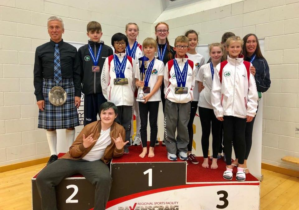 Lisburn TKD wins 19 medals at Taekwondo Scotland Poomsae Championships