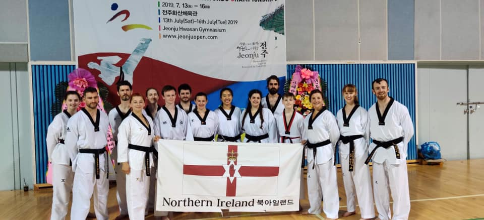 Lisburn TKD members visit & compete in Korea